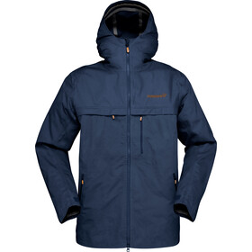 Norrøna Svalbard Cotton Jacket Herr indigo night